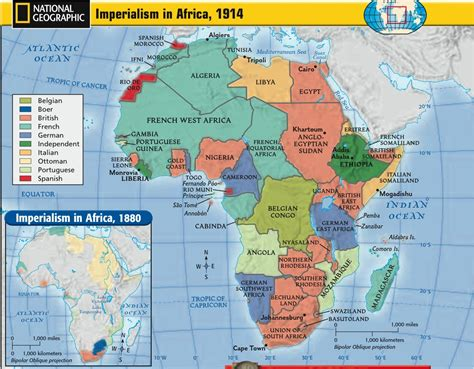 africa map imperialism world history romo march 2013