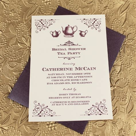 free printable vintage bridal shower invitations free diy tea party invites diy do it your self