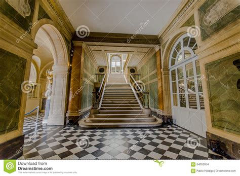 Of Interiors by Interiors Of Chateau De Versailles Near Editorial