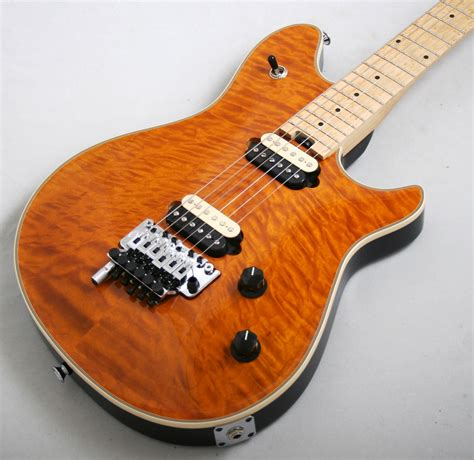 Quilt Usa by Evh Usa Wolfgang Quilt Top Trans Electric Guitars