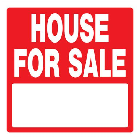 where to buy house for sale signs 16 75 x 16 75 quot house for sale sign at menards 174