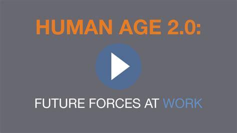 age to human age the human age manpowergroup