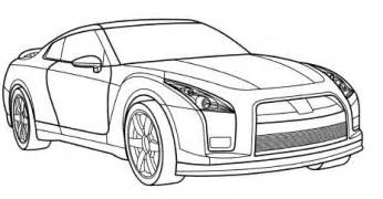 gtr coloring pages cadillac gt r coloring page cadillac car coloring pages