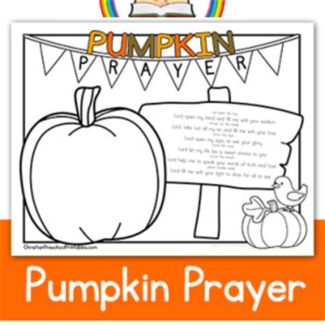 religious pumpkin coloring pages pumpkin prayer coloring page sunday school pinterest