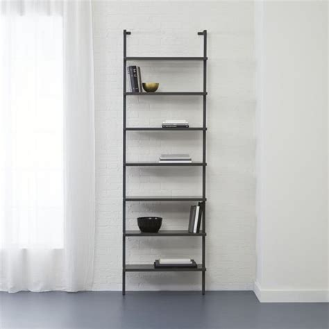 modern wall mounted bookcase stairway grey 96 quot quot wall mounted bookcase grey walls