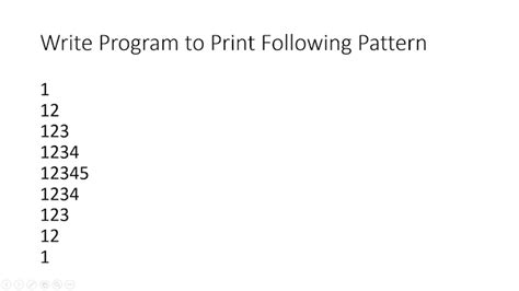 pattern java program simple java how to print pyramid pattern of numbers in java