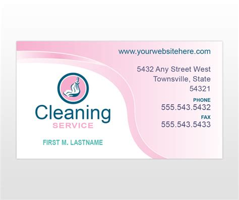 cleaning business card templates cleaning quotes for business cards quotesgram