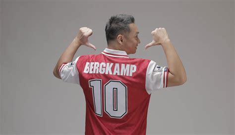 Arsenal Olahraga sport seleb edwin setyadinata presenter olahraga