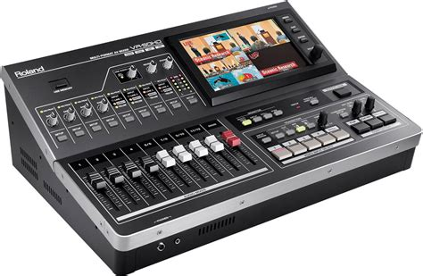 Mixer Roland Roland Vr50hd Audio Mixer Hd Usb Pssl