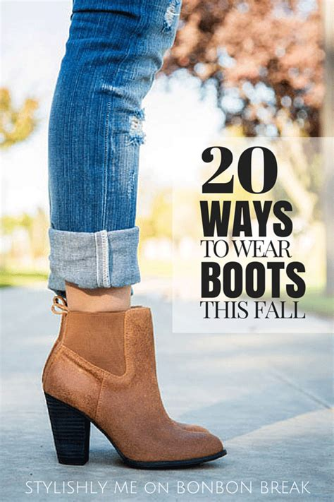 to wear with boots ways to wear boots