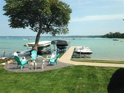 torch lake cottages charming torch lake waterfront cottage vrbo