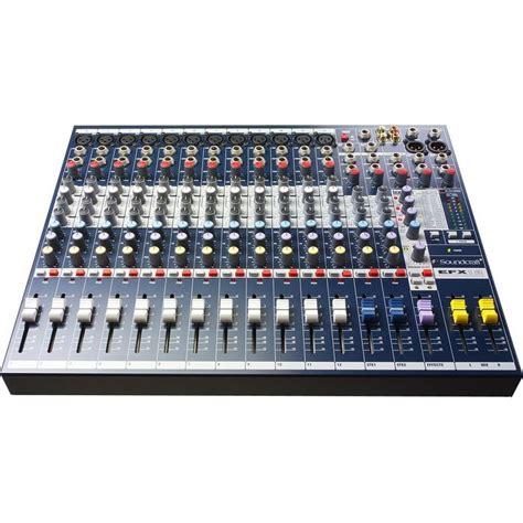 Mixer Jakarta jual soundcraft efx12
