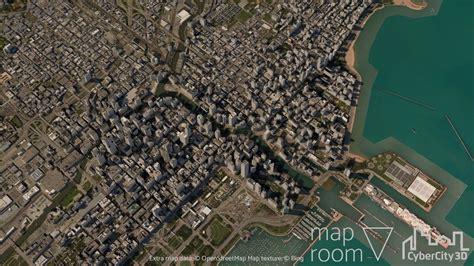 City Map 3d Model