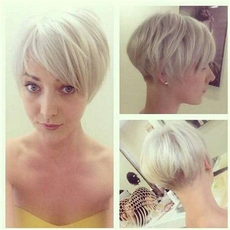 hairstyles for short hair at front long at the back 17 beste idee 235 n over kort permanent op pinterest