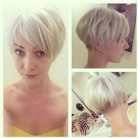 modern womens hair styles longer in the front shorter in the back 17 beste idee 235 n over kort permanent op pinterest