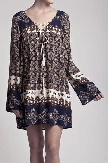 Korea Boho Tunic Dress pepper boho tunic dress from california by classic