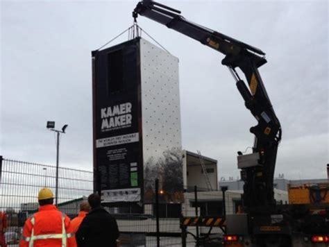 crane house world s first 3d printed house is being built in amsterdam inhabitat green design
