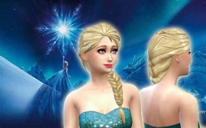 On Elsa New 4 sims 4 elsa cc newhairstylesformen2014