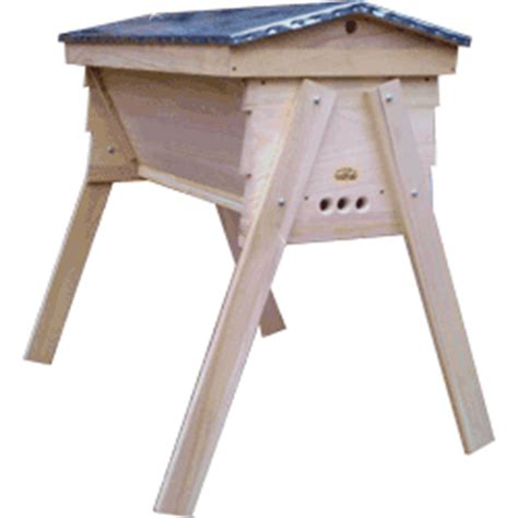 Top Bar Hives For Sale by Cornish Top Bar Hive Bolt On Legs Cornish Top Bar Hives