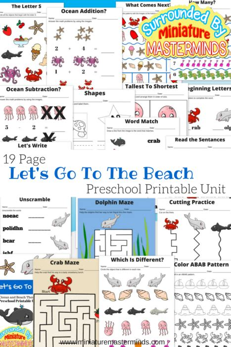 Free Printable Let S Go On A Trip Packing List Hello Cuteness Home Organization let s go to the free 19 page preschool and themed printable unit miniature