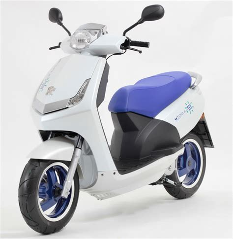 peugeot electric scooter peugeot edl 132 concept e bike