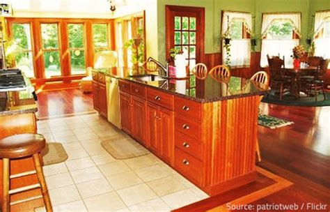 lush green kitchen with eco friendly decor using living is granite environmentally friendly