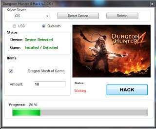 tutorial hack dungeon hunter 4 dungeon hunter 4 hack tool v 1 0 0 android ios hack