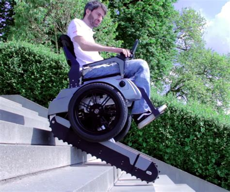 Mobil Ada Usb upwardly mobile wheelchair climbs staircases with ease