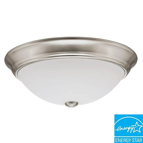 A Guide To Where Nickel Ceiling Lights Best Match Warisan Lighting Lithonia Lighting 1 Light Nickel Fluorescent Ceiling Light 11983 Bnp The Home Depot