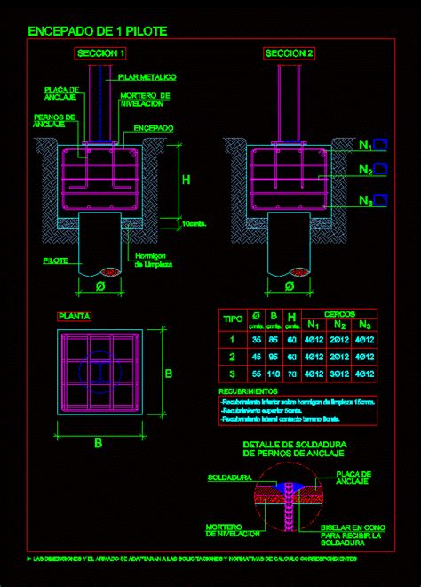 battery pile cap dwg detail for autocad � designs cad