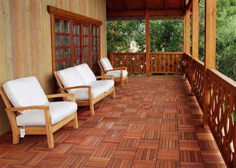Best Wood For Porch Floor by 4 Stylish Outdoor Flooring Materials Present