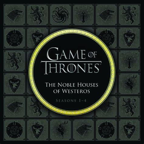 noble houses of westeros sep151842 game of thrones noble houses of westeros seasons 1 5 hc previews world