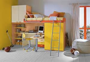 Girls Bunk Beds Loft Beds With Desks Underneath 30 Design Ideas With
