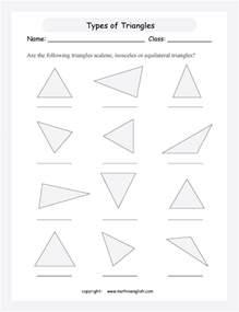 are the following triangles scalene isosceles or