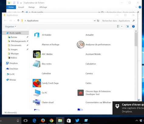 raccourci bureau windows comment cr 233 er un raccourci d une modern app sous windows 10