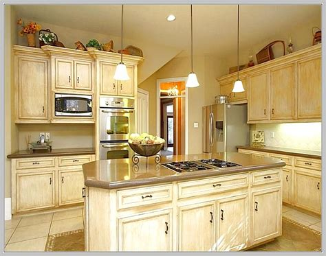 Kitchen island with gas stove top