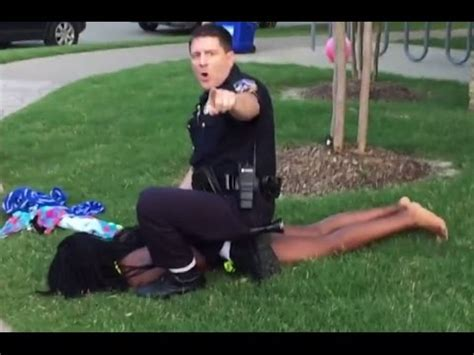 white man gunned down by black teens eric casebolt the cop who beat black children in texas