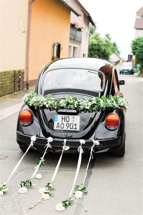 Just Married Auto Blikjes by 1000 Ideas About Wedding Car Decorations On