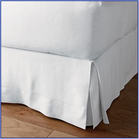 long bed skirt extra long bed skirt kennedy home collection bed raiser