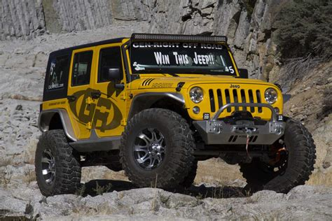 Jeep Contest Five Buck Jk Wrangler Raffle Jpfreek Adventure Magazine