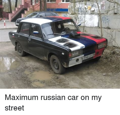 Russian Car Meme - e546 funny meme on me me