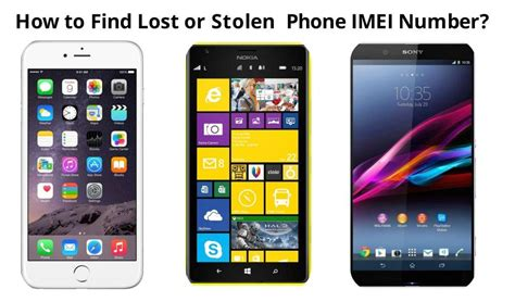 Find Lost Find Lost Phone Imei Number