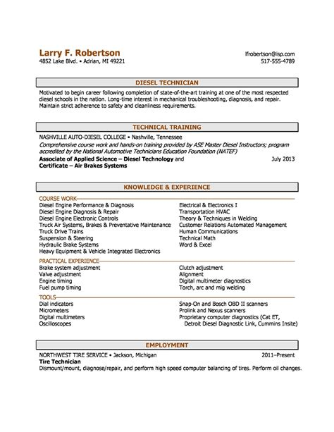 a sle combination resume using aspects of chronological