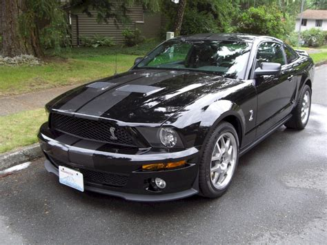 mustang gt500 black black 2008 ford mustang shelby gt 500 coupe