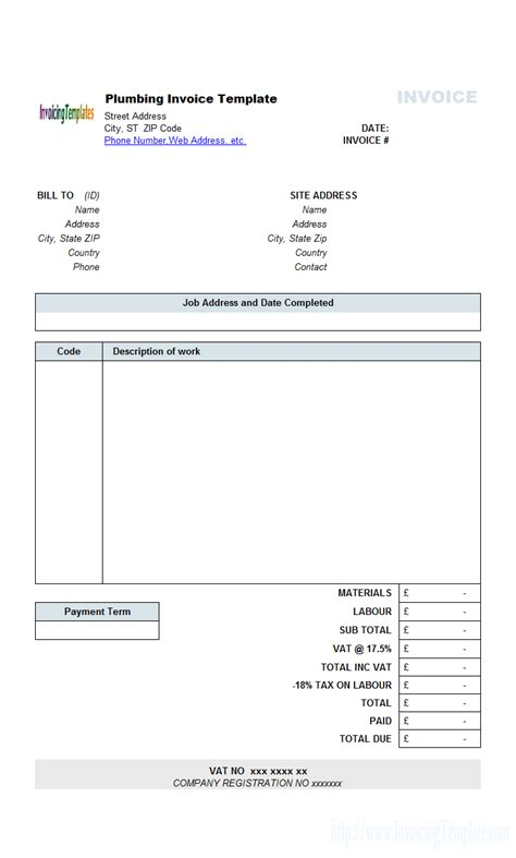 contractor invoice templates contractor invoice template free l vusashop