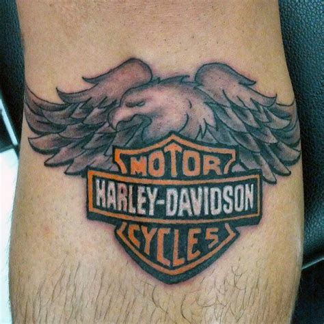 tattoo harley eagle 90 harley davidson tattoos for men manly motorcycle designs
