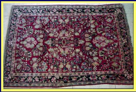 Handmade Articles For Sale - vintage indo rug handmade great color for sale