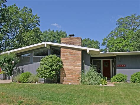 mid century modern homes plans picture modern house plan