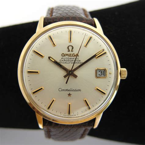 omega constellation montre pour homme 105