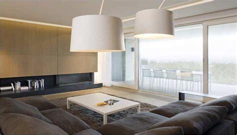 design appartement inrichting met zicht op zee interieur